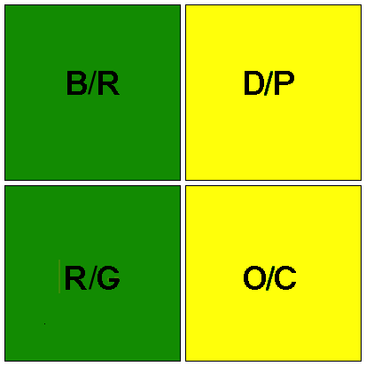 4-square color status