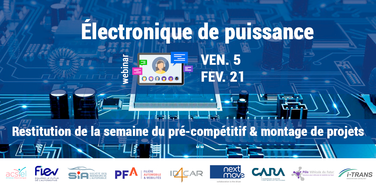 Électronique de Puissance - Restitution de la semaine du pré-compétitif & montage de projets