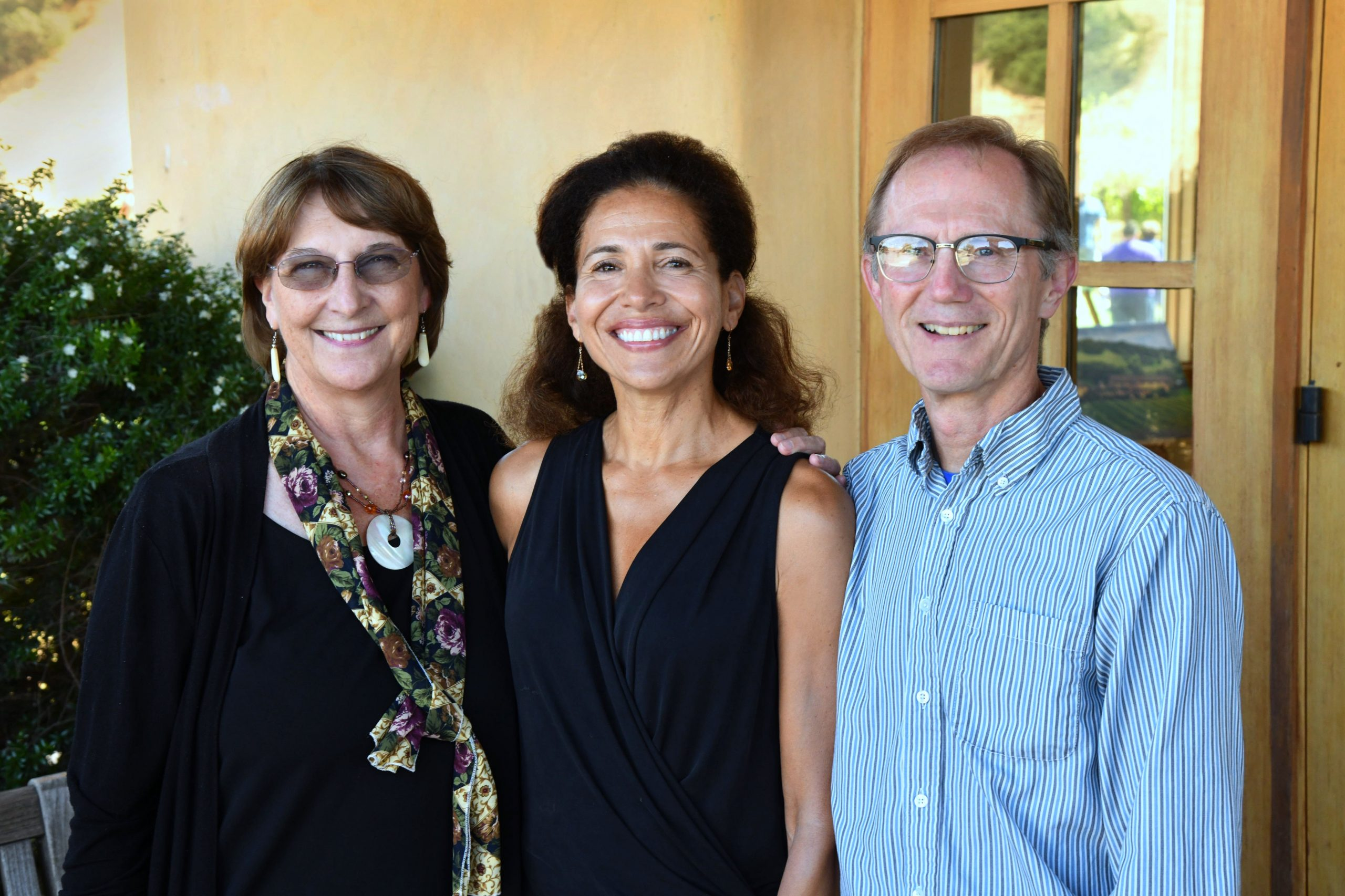 Terry Ehret, Nancy Morales, and John Johnson