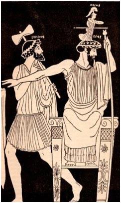 Orestes, Apollo, Athena
