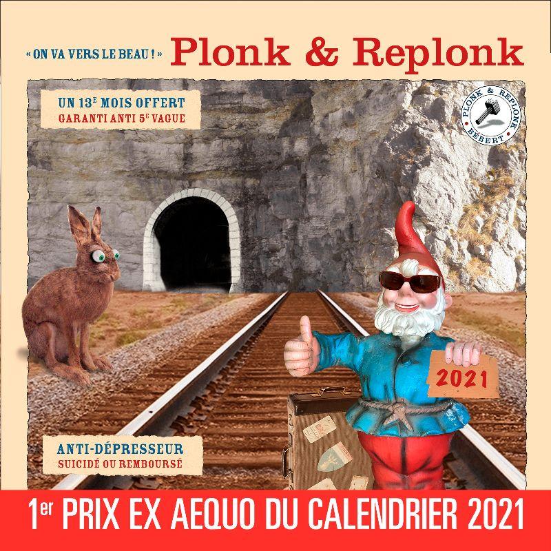Beau calendrier 2021 de Plonk & Replonk