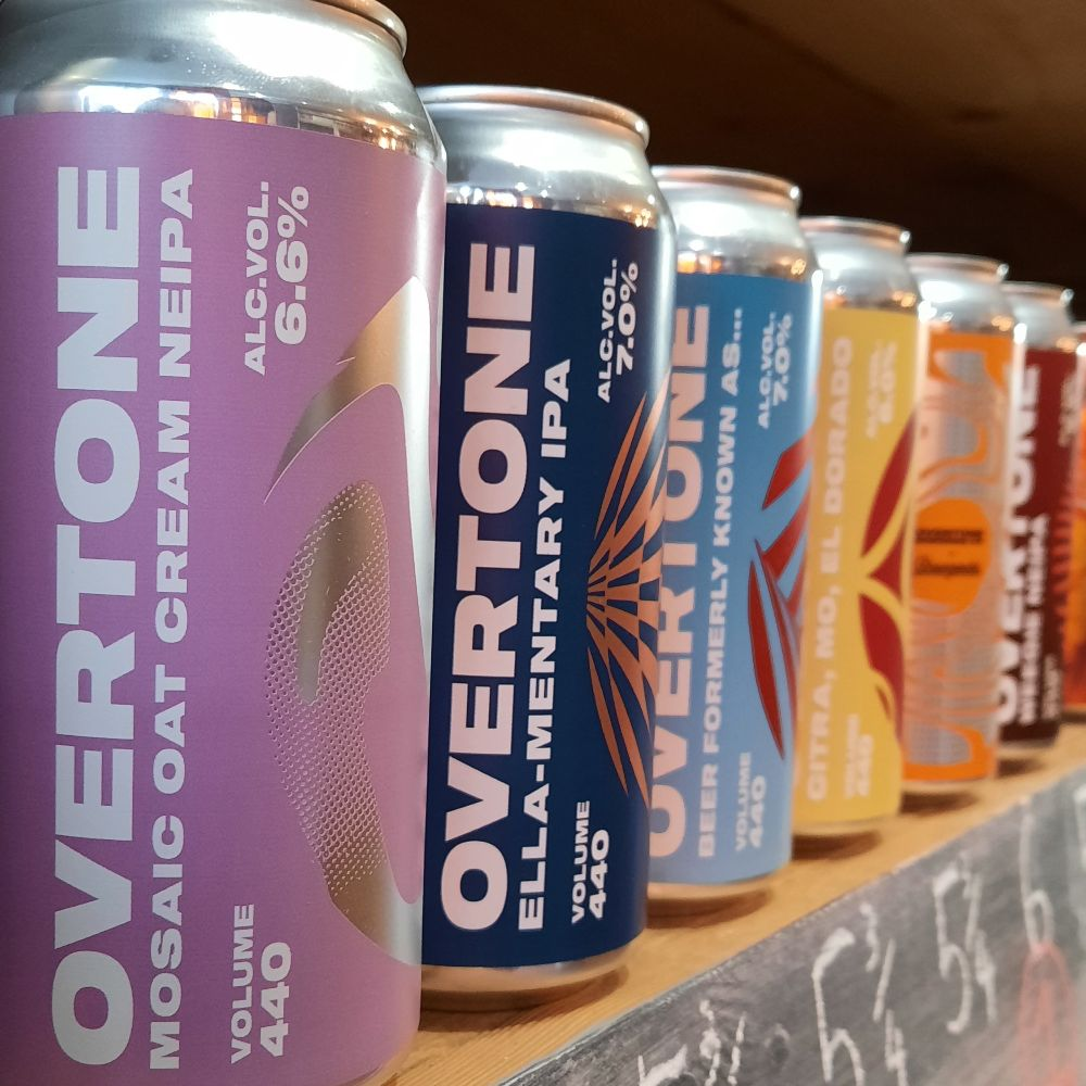 Our new Overtone beers!