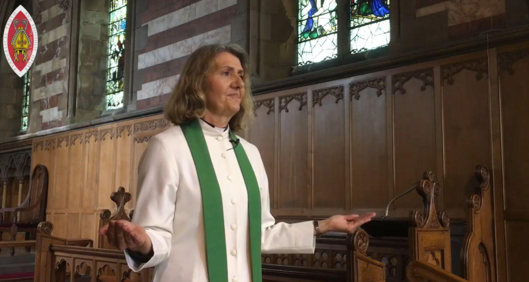 The Rev Elaine Garman presents a guidance video