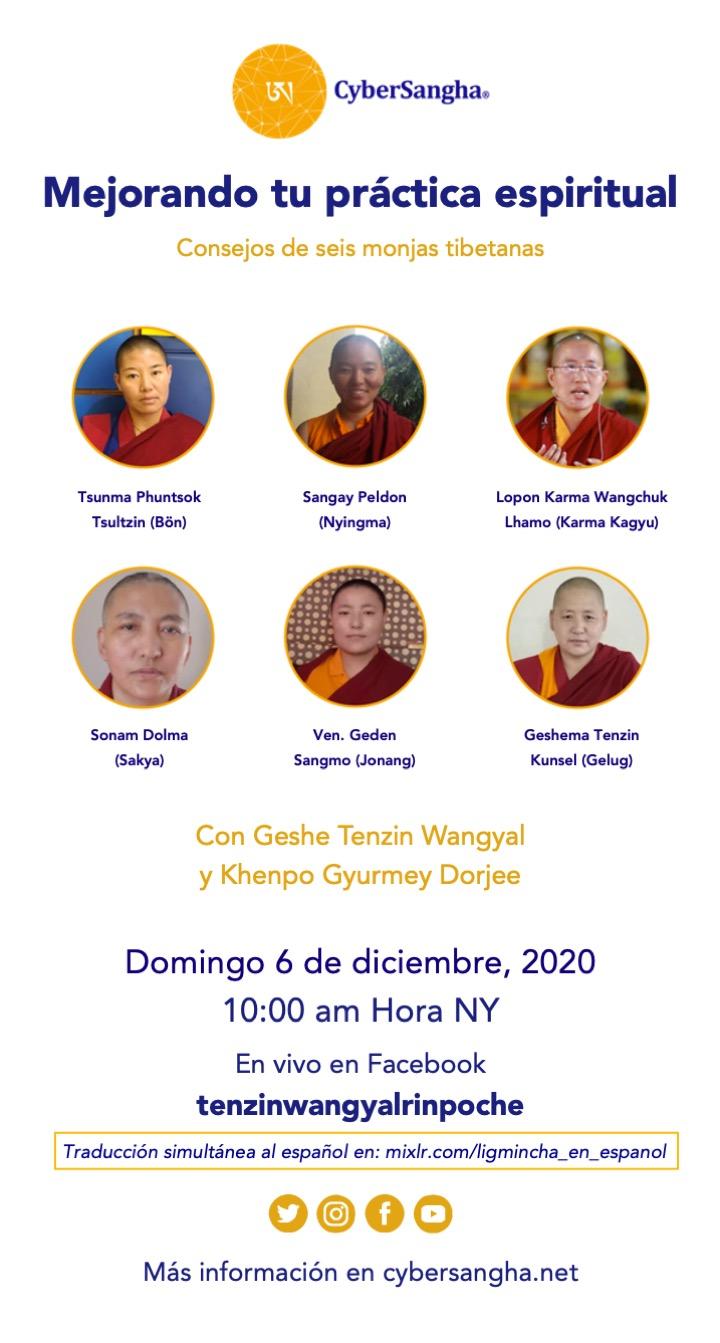 Tibetan Nuns broadcast