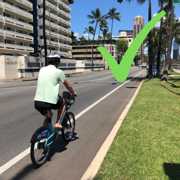 Bike Lane Riding
