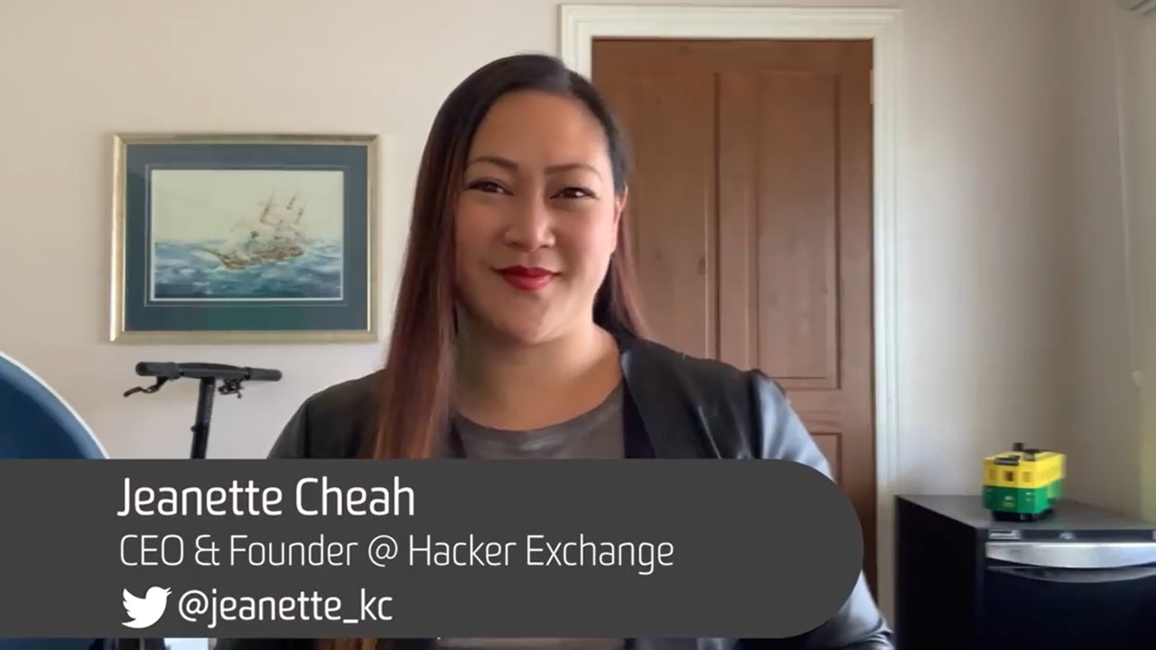 Image of Jeanette Cheah, CEO & Founder @Hacker Exchange
