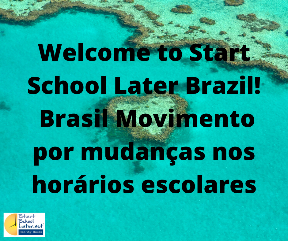Welcome to Start School Later Brazil