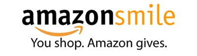 "AmazonSmile logo with the words, ""You shop. Amazon gives"" below"