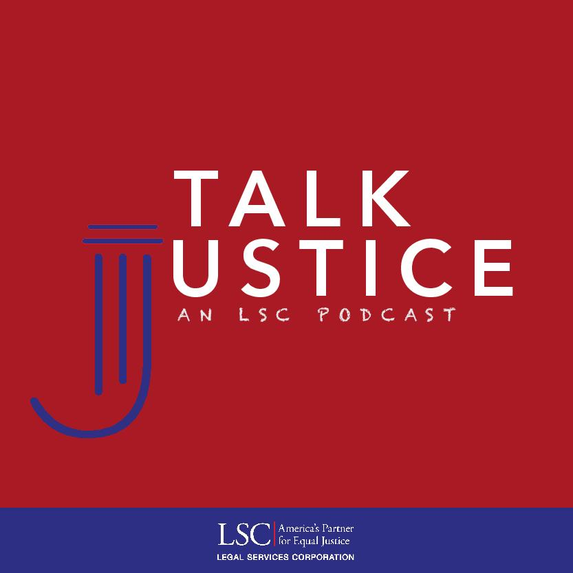 cover of Talk Justice podcast