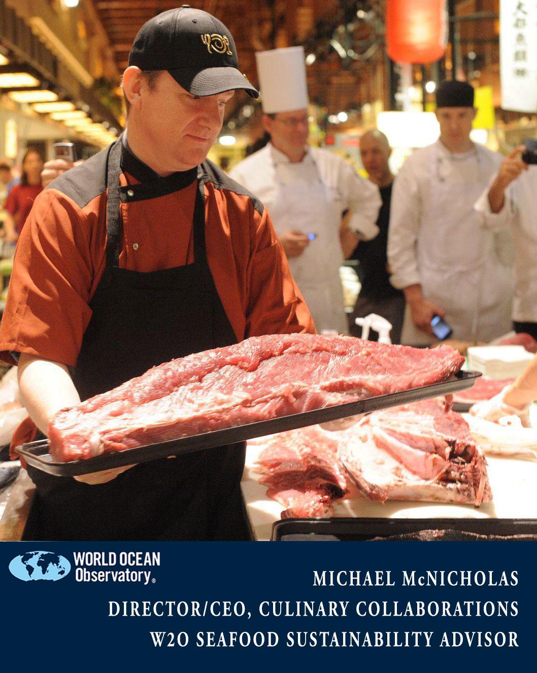 Michael McNicholas Seafood Sustainability Advisor