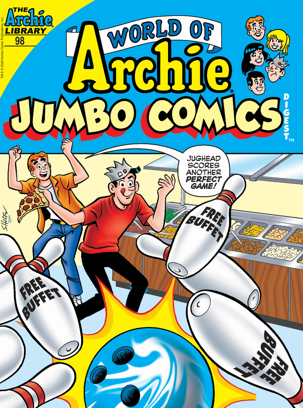 WORLD OF ARCHIE JUMBO COMICS DIGEST #98: Cover A Shultz
