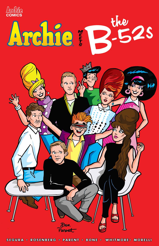ARCHIE MEETS THE B-52s #1: Cover A Parent