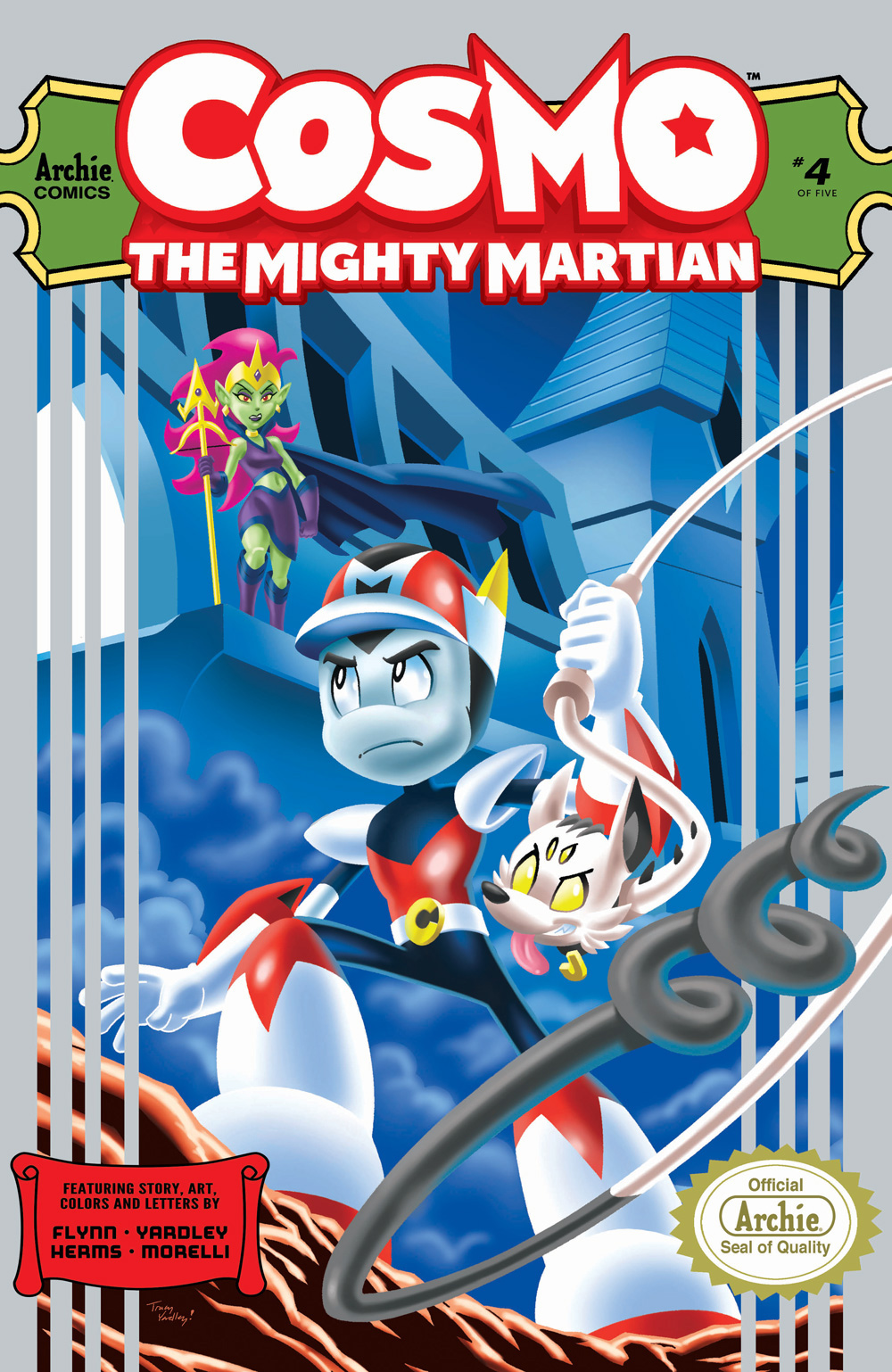 COSMO THE MIGHTY MARTIAN #4: Cover A Yardley