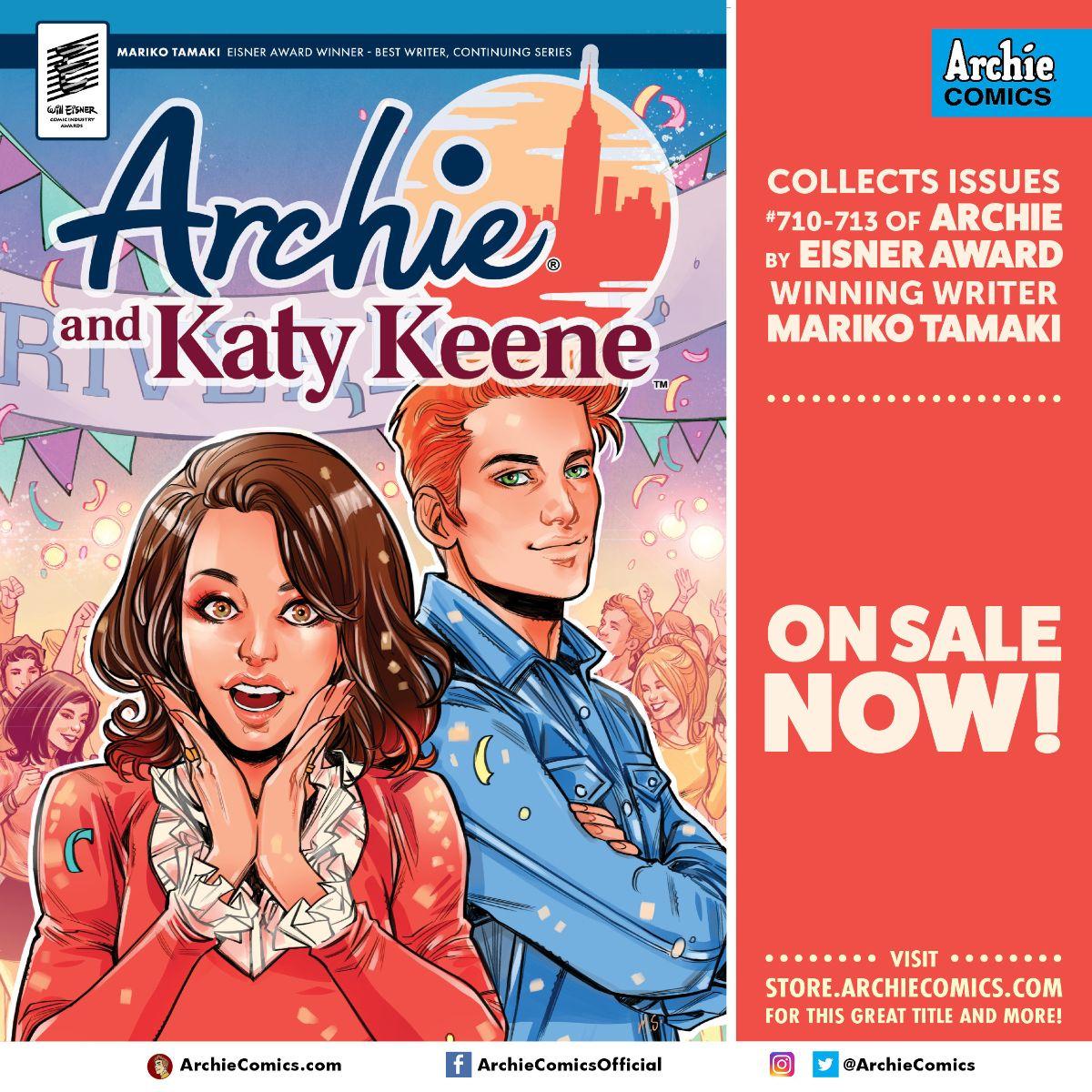 Archie & Katy Keene Promo Image