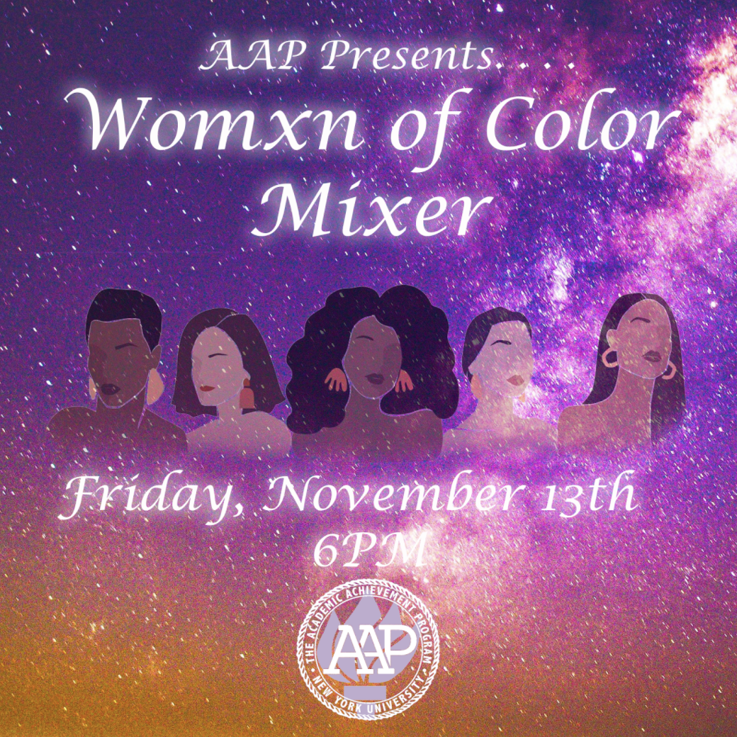 AAP Womxn of Color Mixer Photo