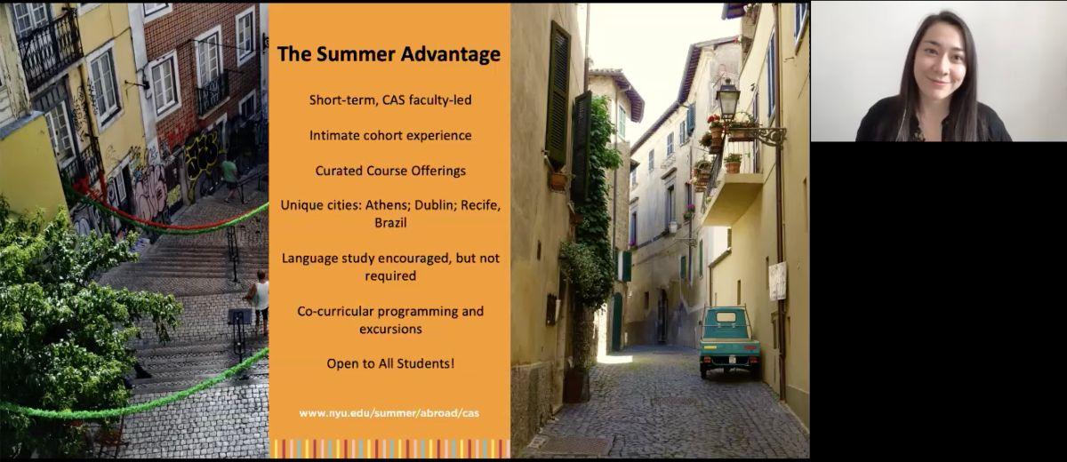 Summer Advantage: CAS Summer Abroad Photo