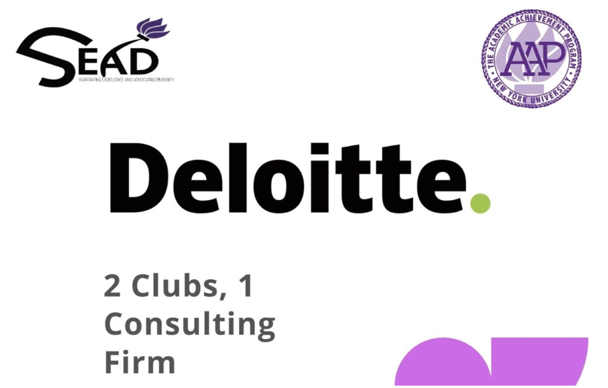 Deloitte and the Supporting Excellence and Advocating Diversity (SEAD) Photo