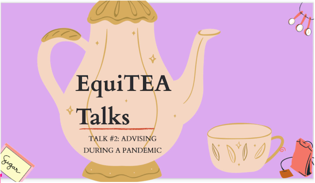 EquiTEA Talks Photo (A discussion on diversity and inclusion)