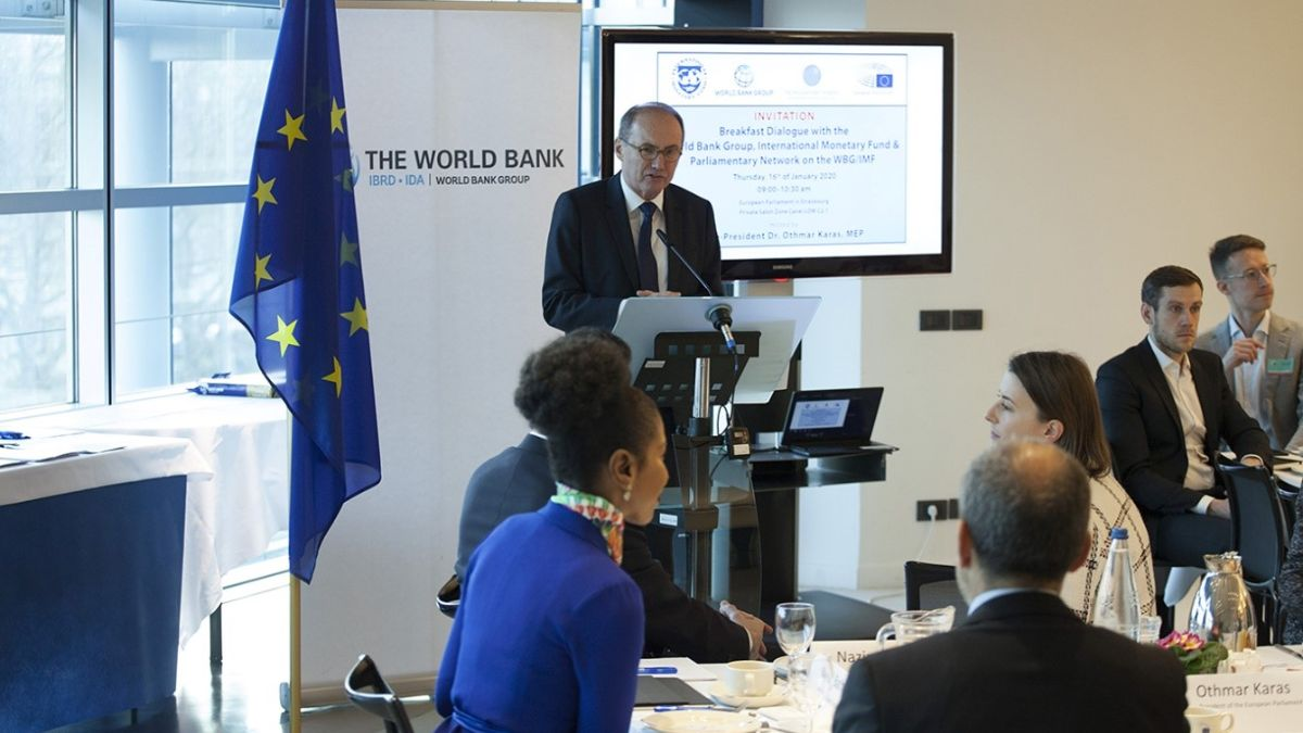 The World Bank, the IMF and the Parliamentary Network Brief with European Parliament