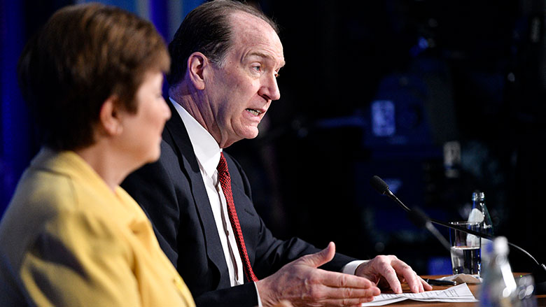 Statement by IMF Managing Director Kristalina Georgieva and World Bank Group President David Malpass on the 2020 IMF-World Bank Group Spring Meetings
