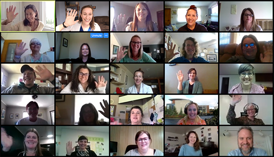 participants and presenters from CAST's last virtual institute