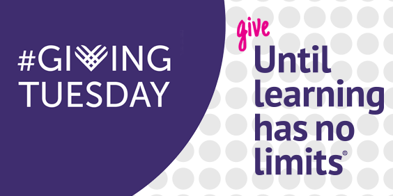 give until learning has no limits