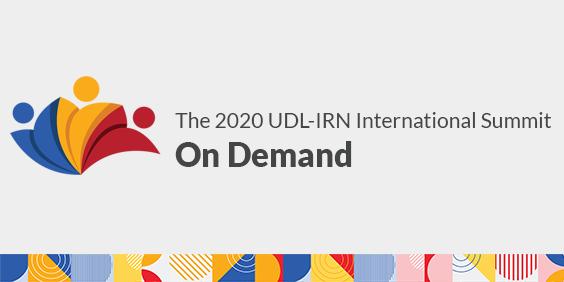 The 2020 UDL-IRN International Summit On Demand