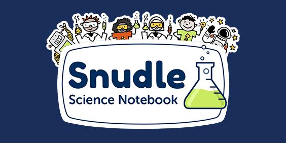 Snudle: Science Notebook logo
