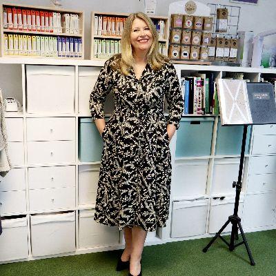 Claire's Hepburn Shirtwaister