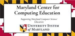 Maryland Center for Computing Education Logo