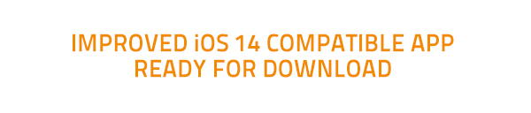Improved iOS 14 compatible app ready for download