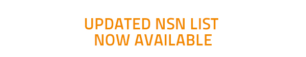 Updated NSN list now available