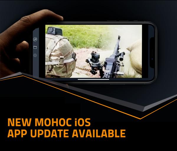 Image of person using MOHOC app