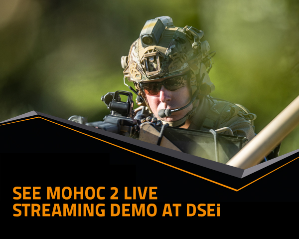 See MOHOC 2 live streaming demo at DSEi