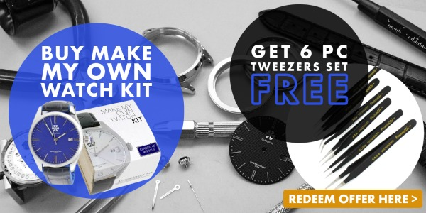 - Make My Own Watch Kits Special Offer