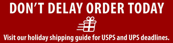 UPS Shipping Deadlines for Holidays USPS