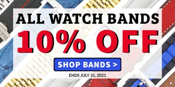 - 10% OFF All Watch Bands -