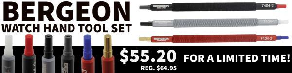 Bergeon 7404 Watch Hand Install Tool Set on Sale Esslinger
