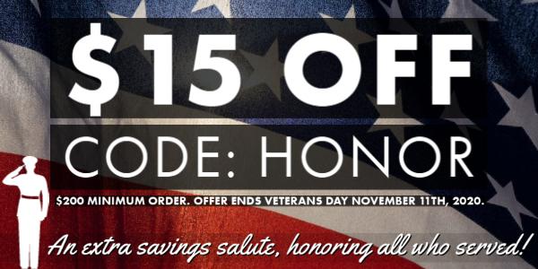 Save Through Veterans Day