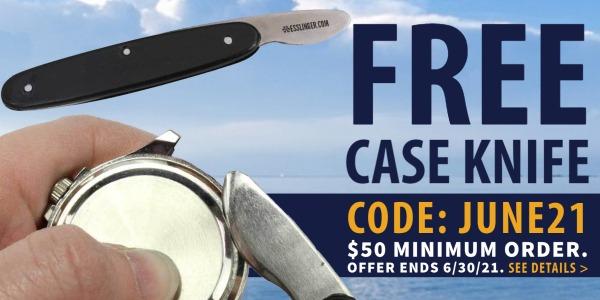 CODE JUNE21 Free Case Knife With Esslinger Order