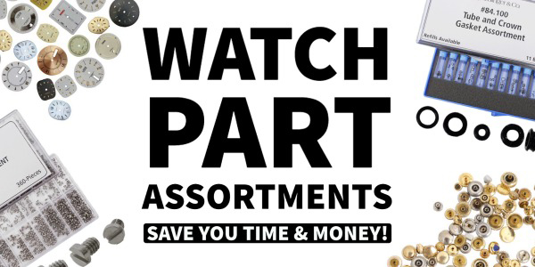 Watch Part Assortments for Watchmaking