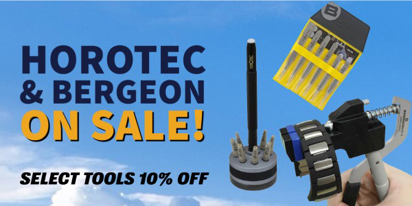 Horotec and Bergeon Brand Name Professional Watch Tools on Sale
