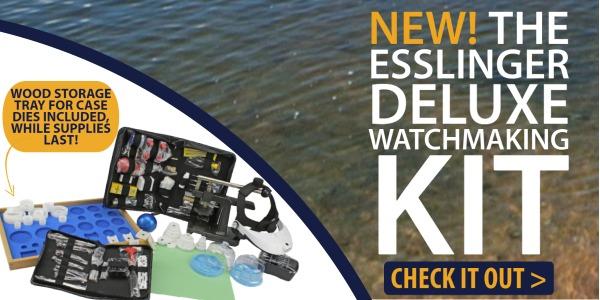New Esslinger Deluxe Watch Making Kit
