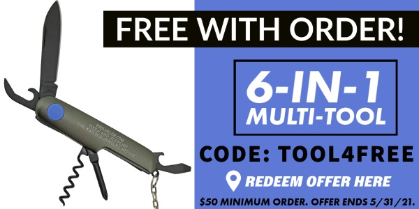 Free Multi-Tool with Your Esslinger Order! Get Code Here >