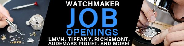 Watchmaker Job Openings Watchmaking Career