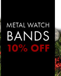 + Metal Watch Bracelets on Sale