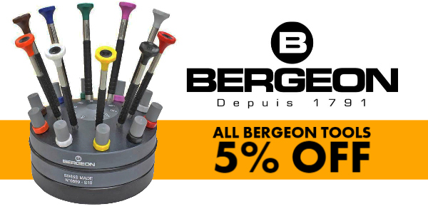 BERGEON TOOLS - 5% OFF