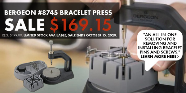 Bergeon Bracelet Press on Sale