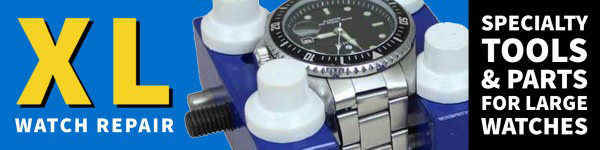 Tools and Watch Parts for Extra Large Watch Repair