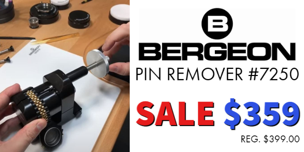 Bergeon 7250 Pin Remover on Sale